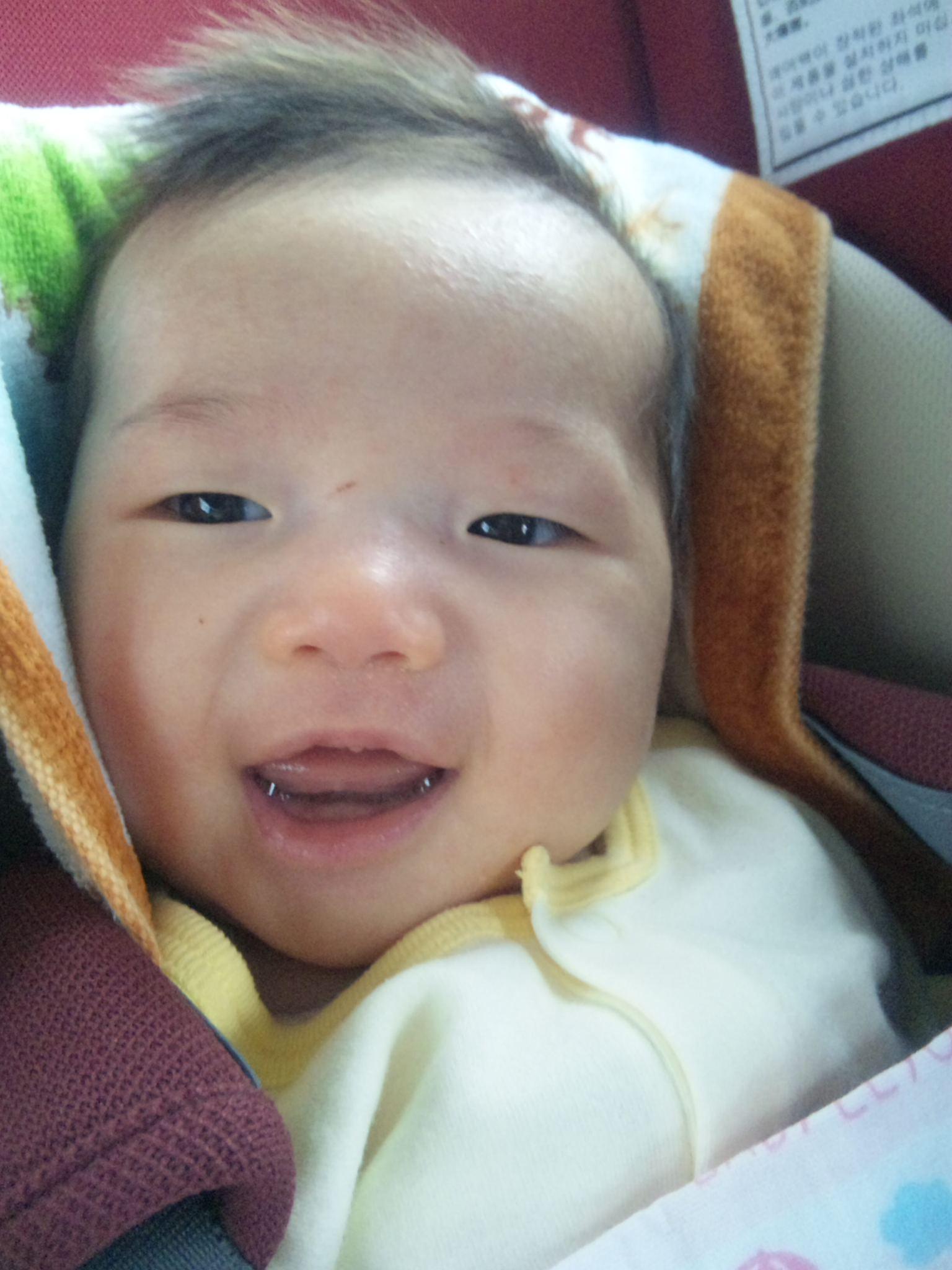 トビキリの笑顔